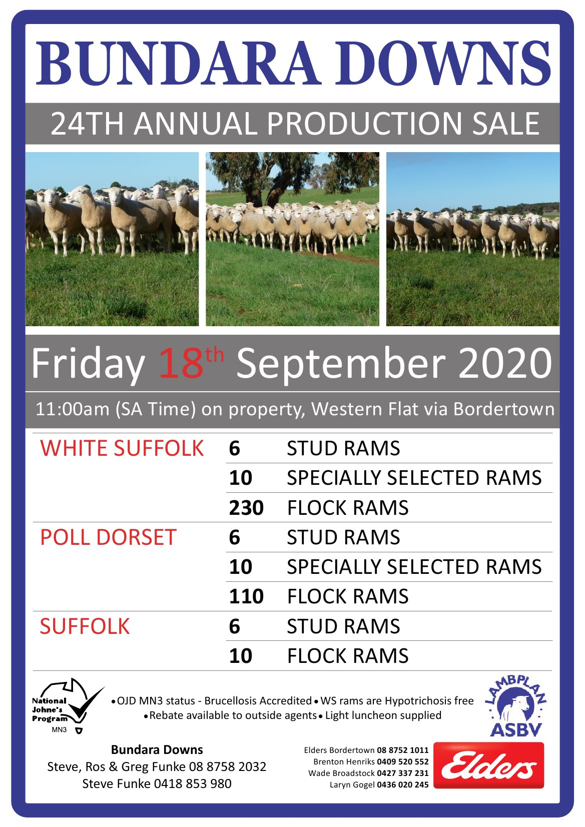 2020 Annual Spring Production Sale